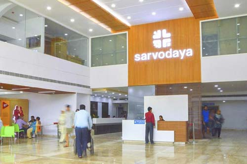 Sarvodaya Hospital and Research Centre Faridabad Book appointment