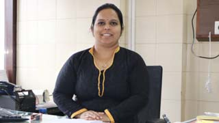 Dr.  Priya B. Naik in Mangalore