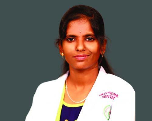 Dr. S. PRIYANGA in Thanjavur