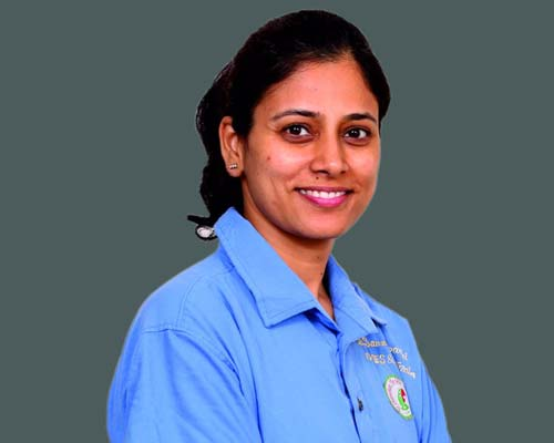 Dr. Saumya Tripathi in Thanjavur
